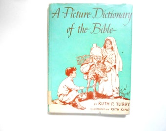 A Picture Dictionary of the Bible, a Vintage Children's Book