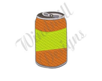 Soda Can - Machine Embroidery Design