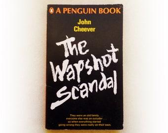 John Cheever - The Wapshot Scandal - Penguin vintage paperback book - 1964