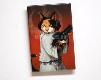 Purrincess Leia Magnet