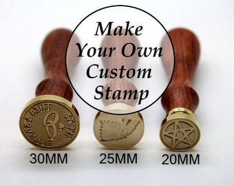 Personalized Wax Seal Stamp Kit Custom Sealing Wax Stamp Wedding Invitation Wax Stamp Wooden Box Paper Box Kit C001