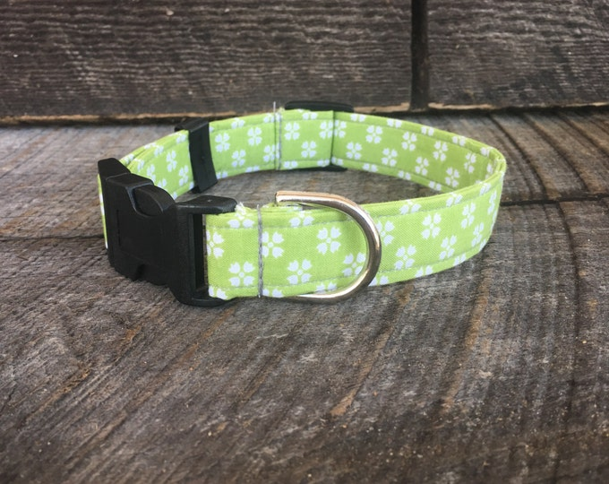 Floral Lime Collar