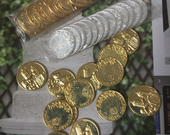Coin Arras, Wedding Coins, wedding arras tradition, religious wedding trafition, wedding Arras, Wedding ceremony tradition
