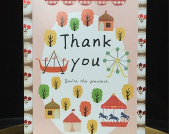 You're the Greatest Thank You card