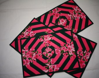 Pineapple placemats (4)