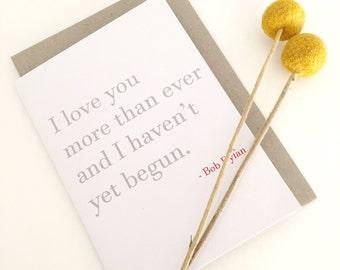 Valentine Card | I love you card | Valentine's Card | Love Card | Wedding Card | Card for wife | Card for husband | Card for boyfriend |