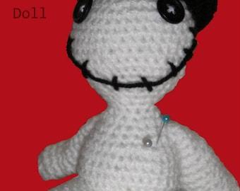 Amigurumi Halloween Voodoo doll pattern