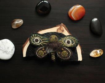 Moth/ Butterfly Brooch 02