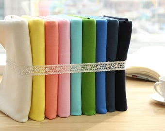 """2:1 Ribbing Knit Fabric in 19 Colors by 15.70"""" (40 cm)"""