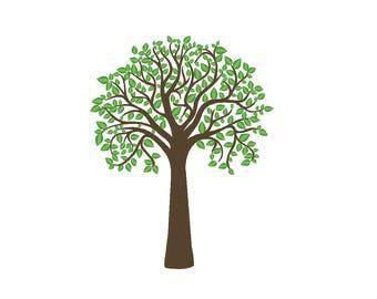 Tall Tree Embroidery Machine Design