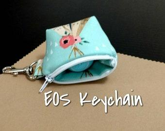EOS Lip Balm Keychain