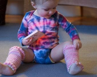 Custom Tie Dye Baby Bodysuit, long sleeve bodysuit, Hippie Baby, Bohemian Baby, Boho Baby, Tie Dye Baby, Tiedye Baby, Retro Baby, Funky Baby