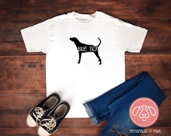 Blue Tick Hound youth T-Shirt