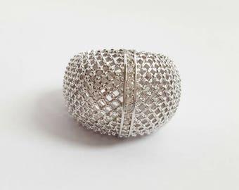 Mesh Ball Ring