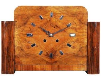 Large Art Deco Mantel Clock