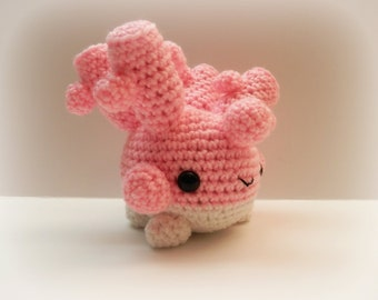 Crochet Corsola Inspired Chibi Pokemon