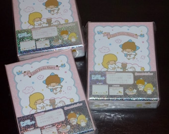 Sanrio Little Twin Stars Kiki & LaLa Boxed Stationery Letter Sets