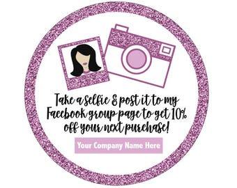 Selfie Time Stickers | Selfie Time | Instagram Selfie | Facebook Selfie | Selfie Time Sticker | LipSense | SeneGence