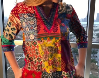Pong Patchwork Tunic