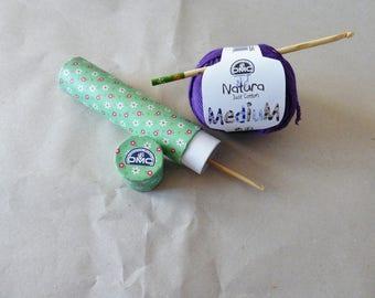 Box for crochet (green)