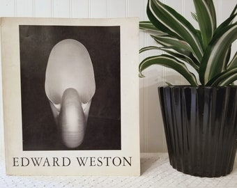 Vintage Edward Weston Photographer Book. Mid Century (c) 1965 Softcover. The Flame of Recognition. Aperture, Inc. New York, 1968. B&W photos