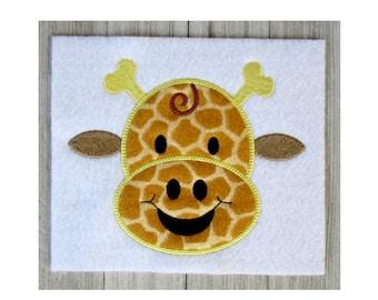 Giraffe Embroidery Design, Giraffe Applique, Giraffe Machine Embroidery Design, Applique Giraffe, Giraffe Designs, Giraffe Appliques, 3Sizes