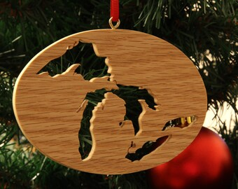 Great Lakes Christmas Ornament