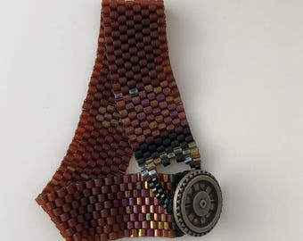 Peyote Anklet Bracelet 2