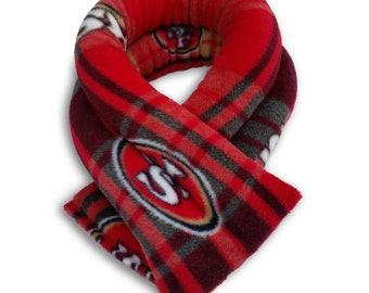 San Francisco 49ers NFL Microwave Heating Neck Wrap, Extra Long 26x5,Heating Pad, Neck Pillow