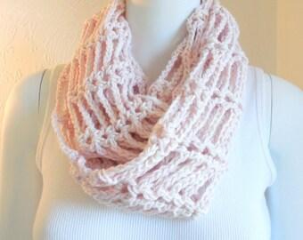 Organic cotton infinity scarf/cowl