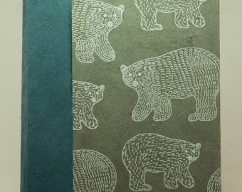 Polar Bears in Blue and Gray