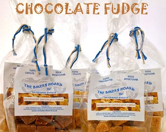 Chocolate Fudge - Handmade Fudge - Handmade Confectionery, Fudge, Chocolate, Made in Devon, Edible Gifts, Sweet Treats, Food Gifts, Sweets