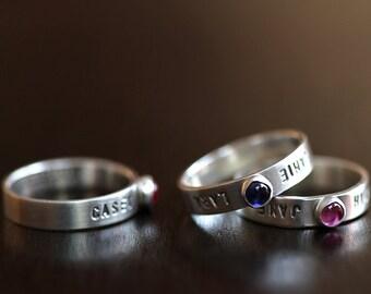 Custom Gemstone Ring (E0348)