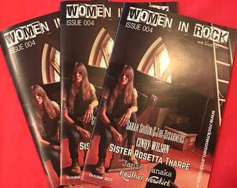 Women in Rock Magazine Issue 004