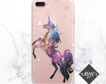 Unicorn Case iPhone 7 Unicorn iPhone 6 Space Unicorn iPhone 8 iPnone 6S Space iPhone 7 Plus Space iPhone Unicorn Cover Cover iPhone Space