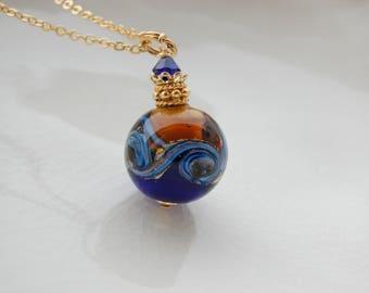 Murano Round Glass Necklace