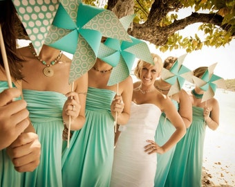 Wedding Pinwheels, Party of 8 by Rule42 - custom designed for you