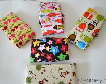 Reusable lunch bag for sandwiches and snacks (model to choose)