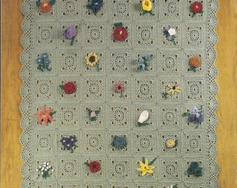 Crochet Pattern Crochet Afghan Pattern Friendship Afghan Pattern