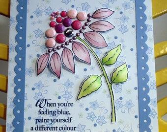 Handmade greeting card/Birthday card