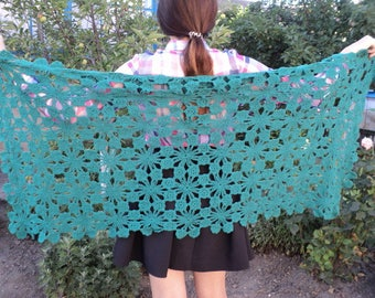 Knitted stole (shawl, scarf), a smart accessory SALE