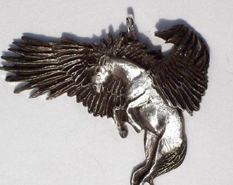 """Pegasus the  """"  Winged Horse """".   ..New Design Hand Carved"""