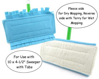 Sweeper Mop, Washable Mops, Swiffer Cover, Swiffer Pad, Reusable Swiffer Pads, Dry Mop, Wet Mop, Ecofriendly, Eco Friendly, Green Cleaning