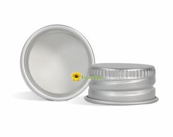 Aluminum Cap with Liner 24/410 - 10 Pack