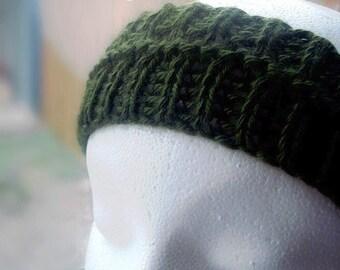 Simple Print and Knit DIY Headband Knitting Pattern Fun Circular Knitting Tutorial Knitting Beginner Sell What You Make Instant Download PDF