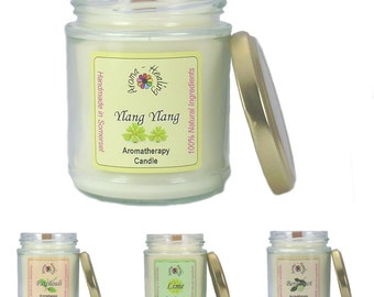 Natural Fragranced Candles   Scented Jar candles   The Best Aromatherapy Candles   Woodwick Jar Candle
