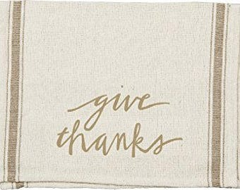 Dish Towel - Give Thanks