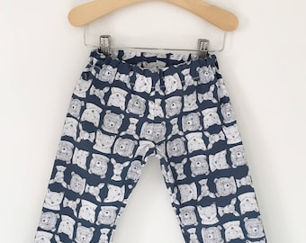 Forest Animals Baby, Toddler, and Child Straight Leg Pants