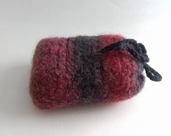 Pure wool felted SOAP cover