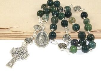 Saint Patrick Brustpanzer Christian Rosary, Nazaret - bischöflichen - evangelische - lutherische Gebetskette